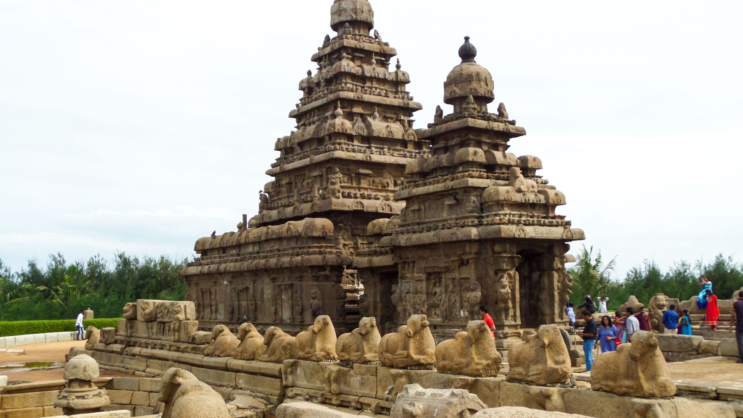 Ancient temple ruins in India