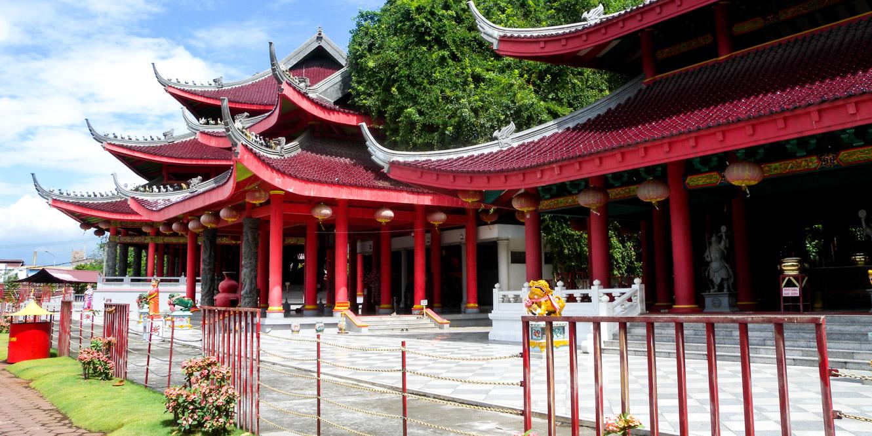 Pagoda shrine in Indonesia