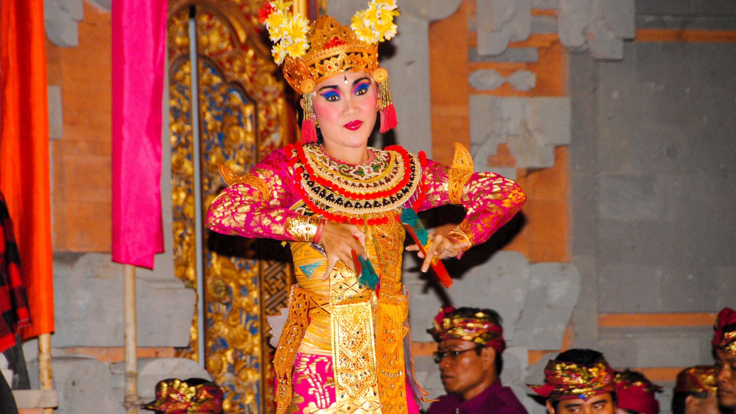 Woman performs dance in Indonesia