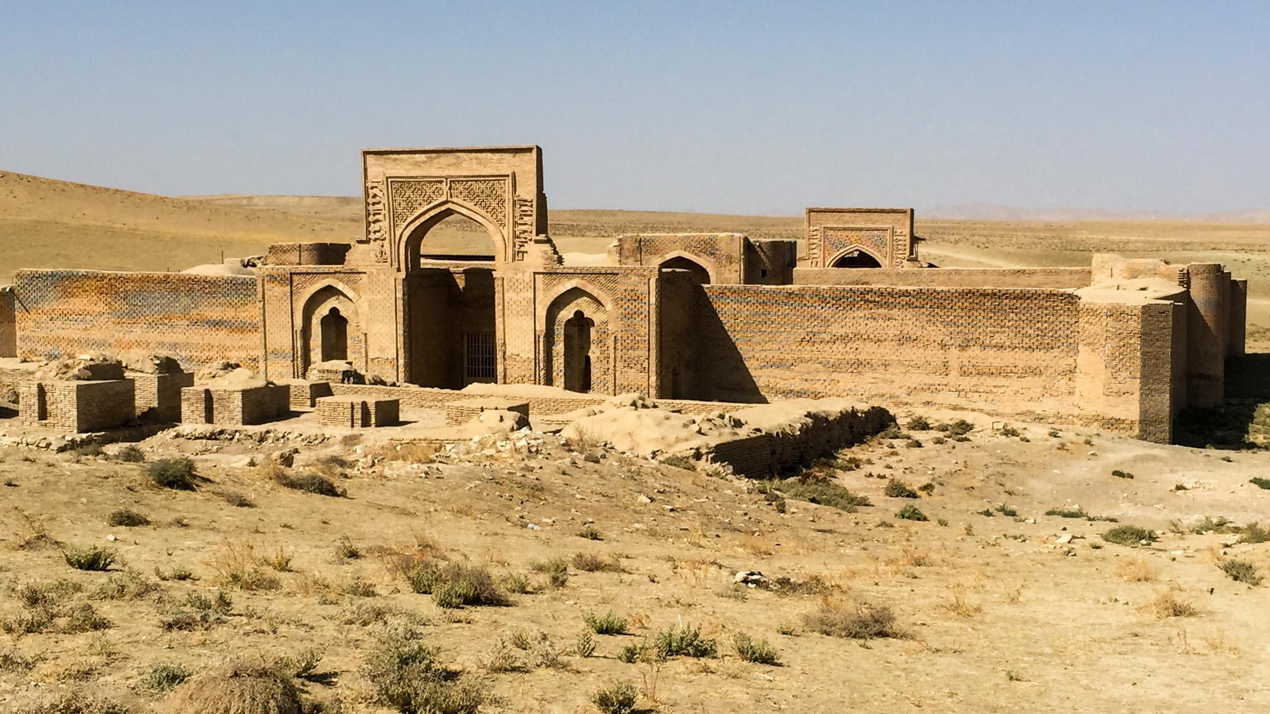 Ruins in Iran desert