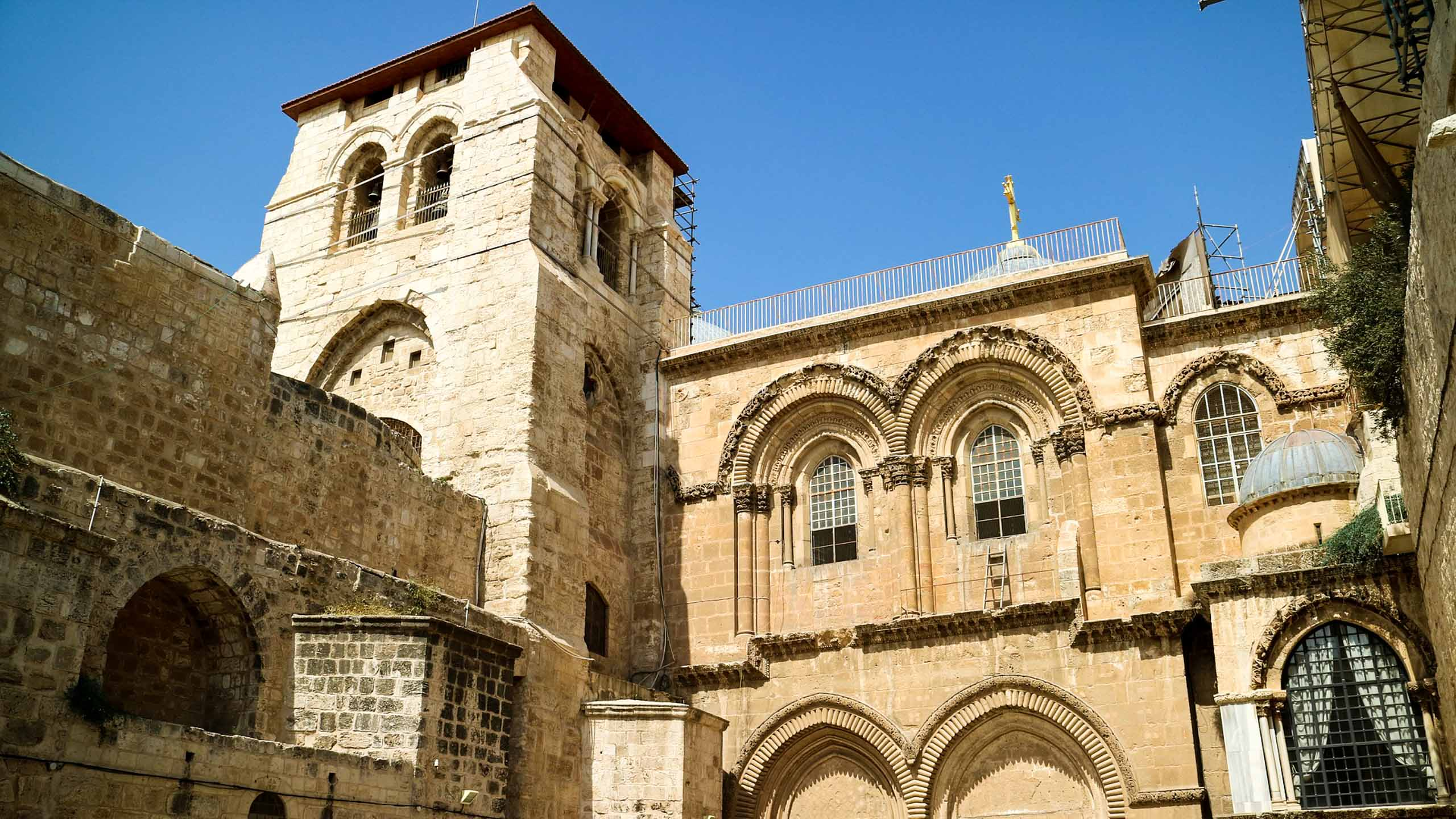 Israel Holy Sepulchre building