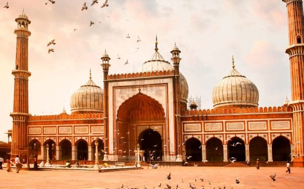 Jama Masjid Mosque in Delhi, India