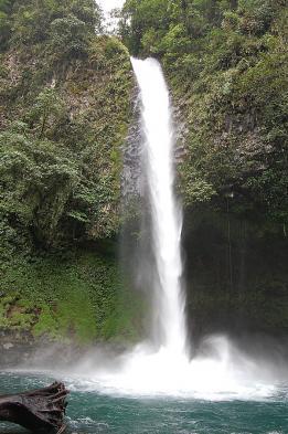 Admire pristine La Fortuna waterfalls