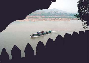 The Mekong from Pak Ou Cave