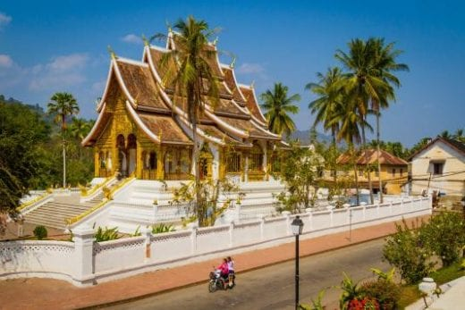 Luang Prabang is a city of temples