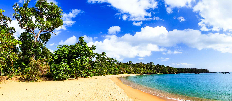 Beach of Masoala Peninsula, Madagascar