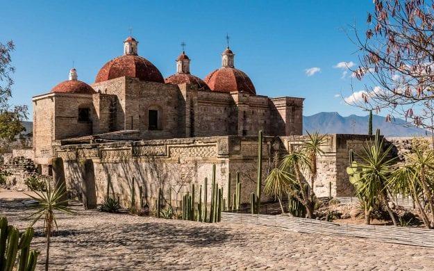 Stone building in Mexico