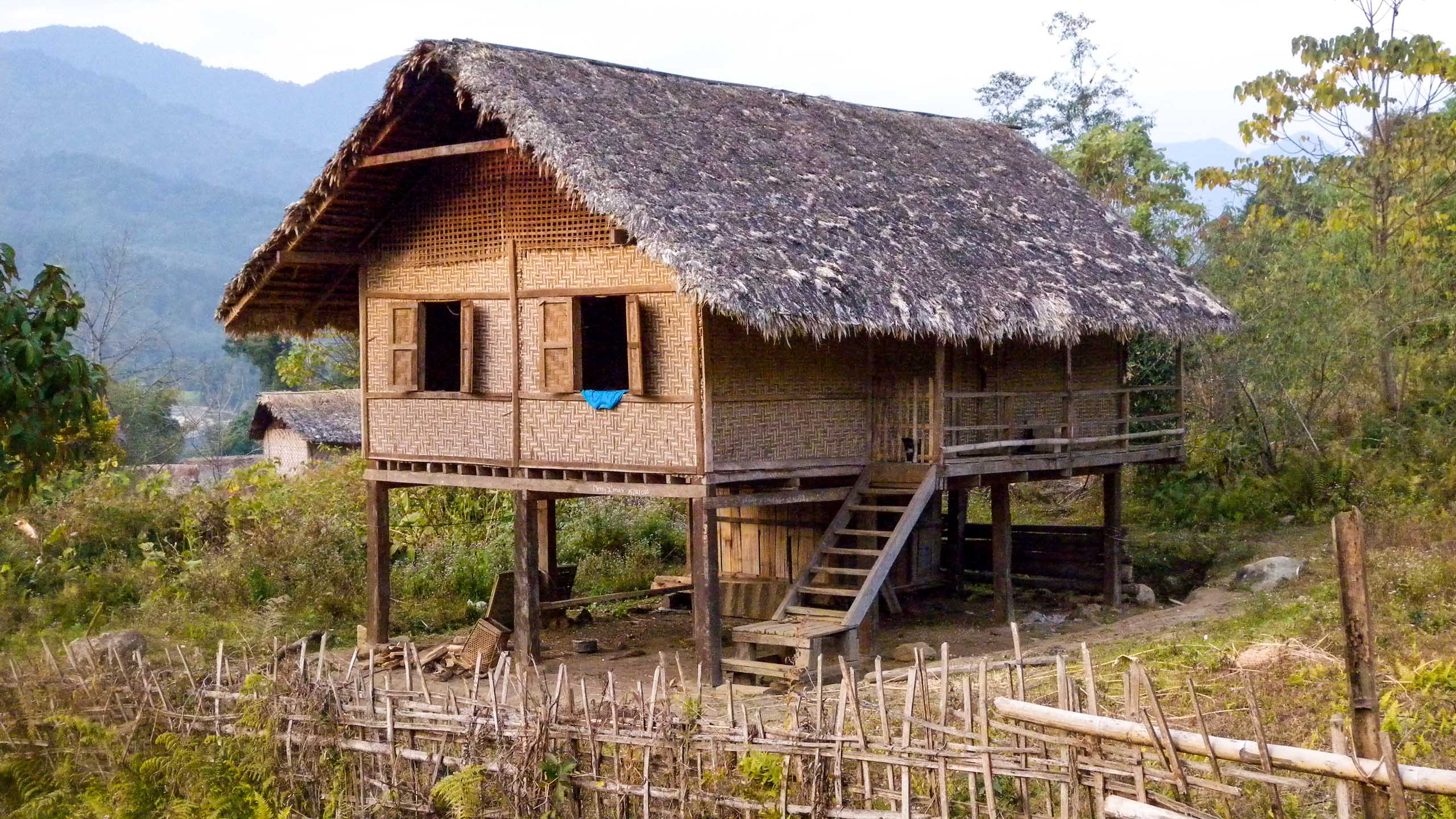 Myanmar village home