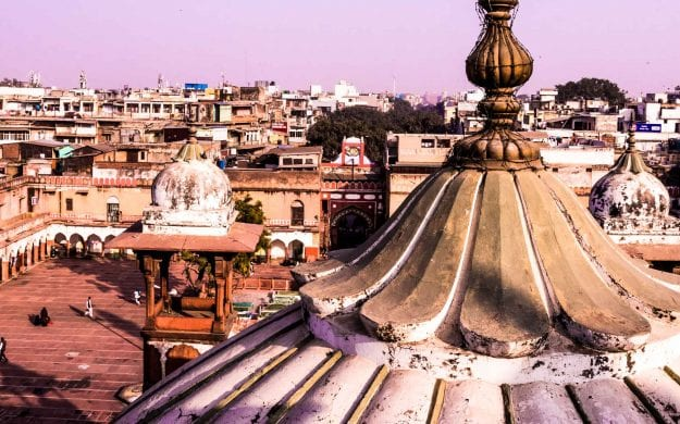 View over Old Delhi, India rooftops