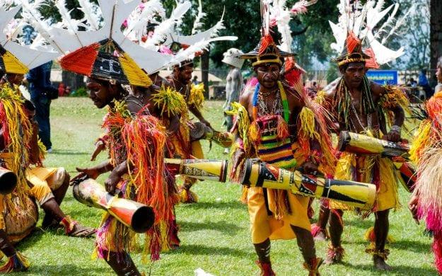 Papua New Guinea show performance