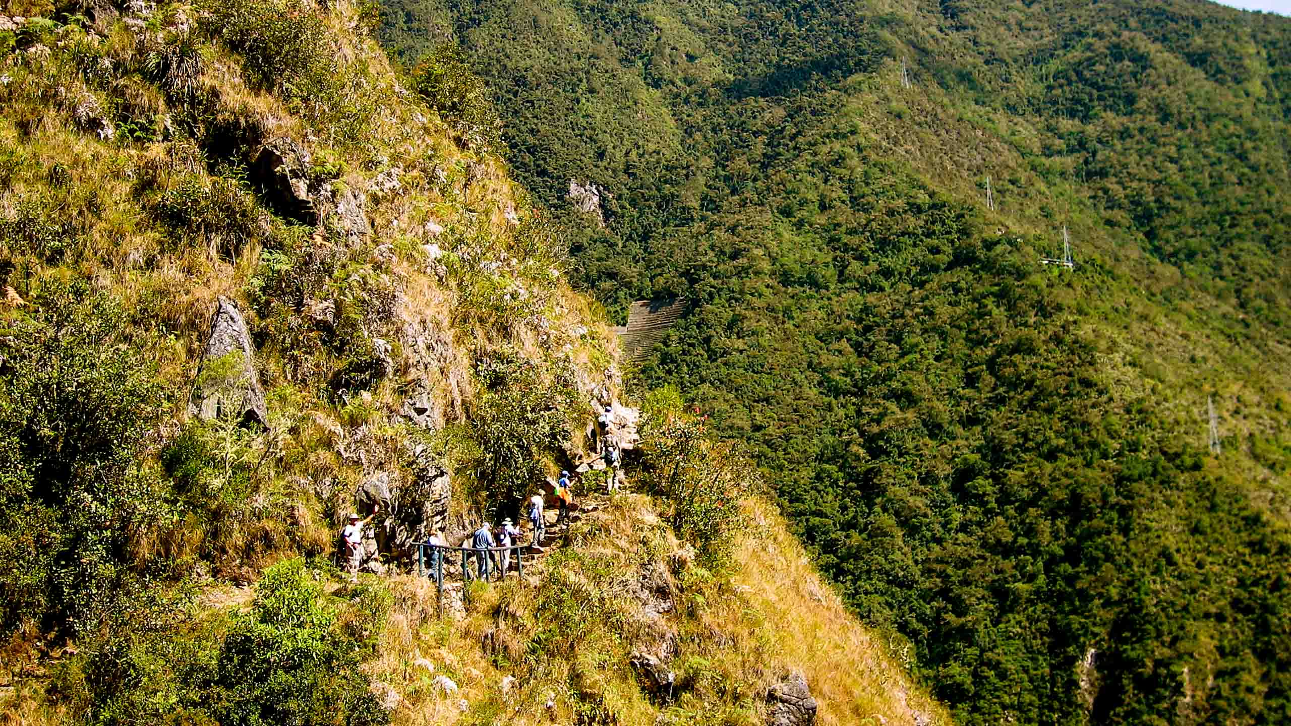 Peru travel group hikes Inca trails