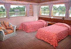 Transfer to comfortable accommodations on the MV Sepik Spirit