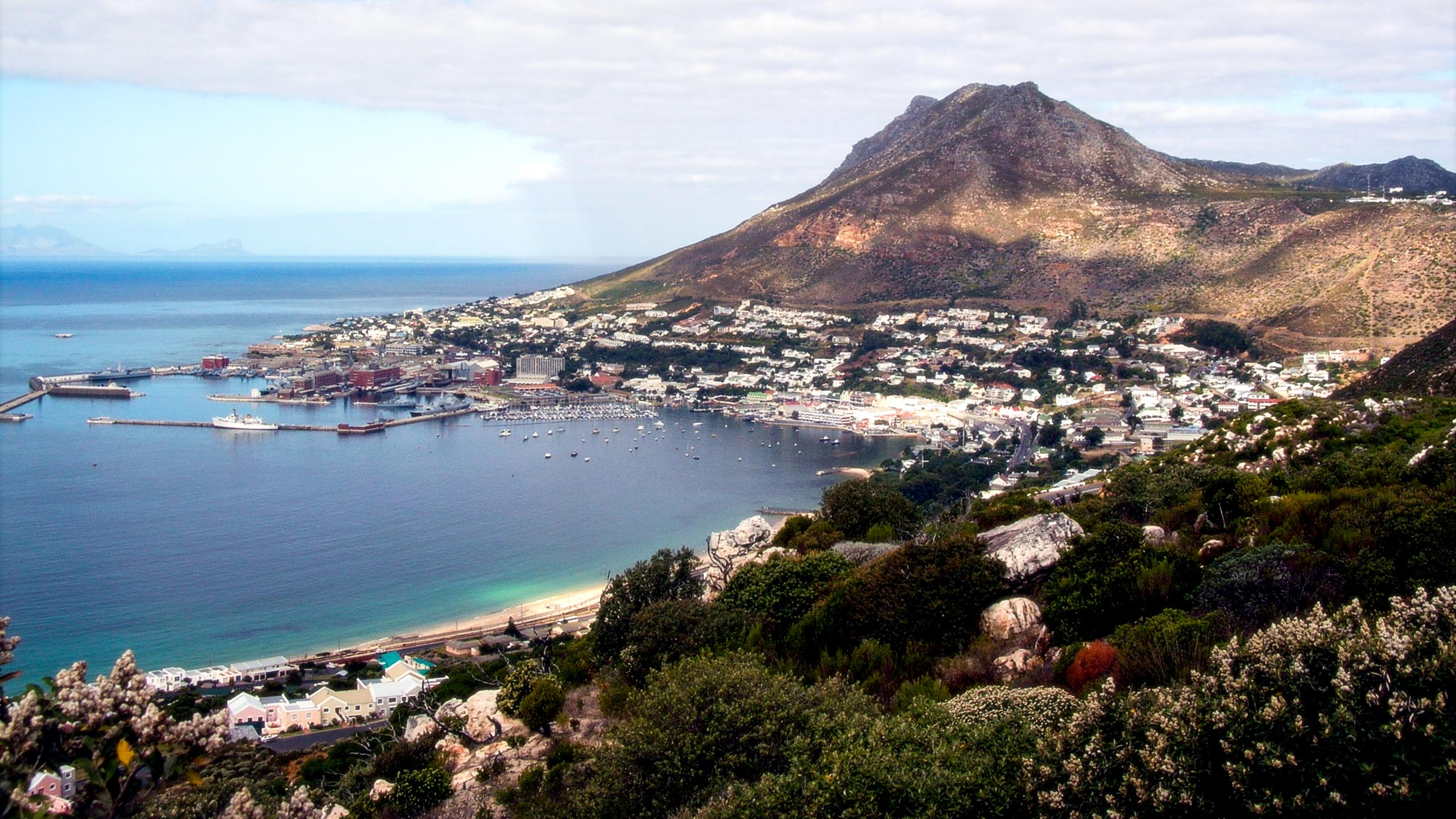 Coastal town in South Africa