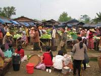 Local village market