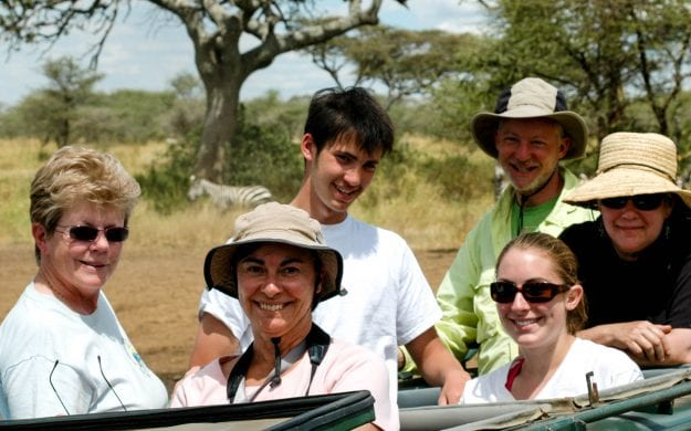 Tanzania family group safari
