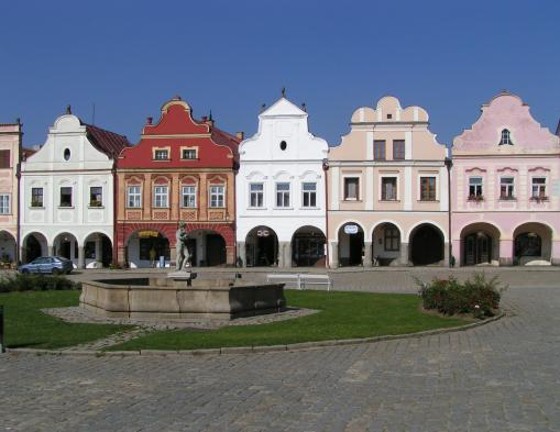 Renaissance town of Telc