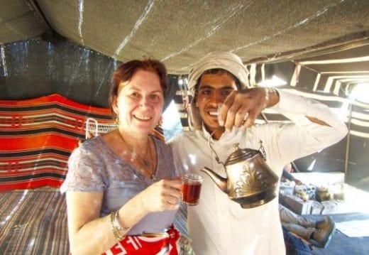Enjoy Bedouin hospitality