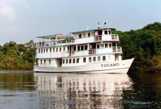 Bid farewell to the Tucano and the river as you return to Manaus