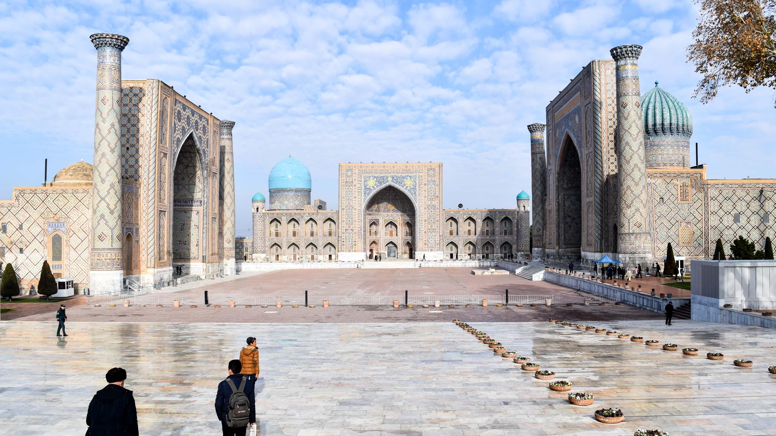 Khudayar Khan Palace in Uzbekistan