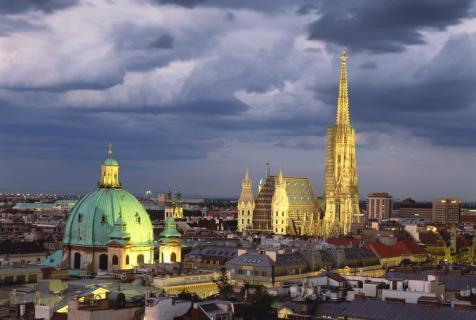 Arrive in Vienna