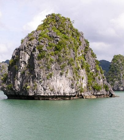 Ha Long Bay Rock Island, Vietnam
