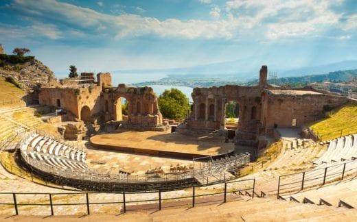 ancient theater at Taormina