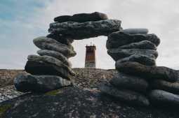 A lighthouse at Saaremaa