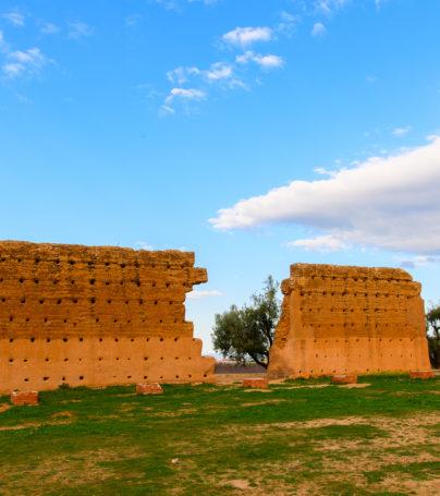 El Mansourah ruins at Tlemcen