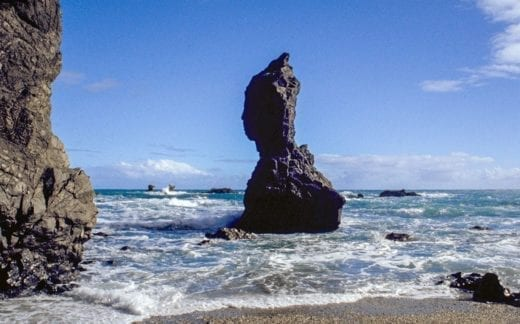 Follow the stunning coast