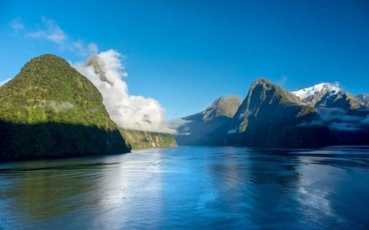 Milford Sound is a feast for the eyes