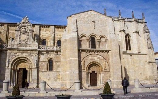 Old church in Leon, Spain