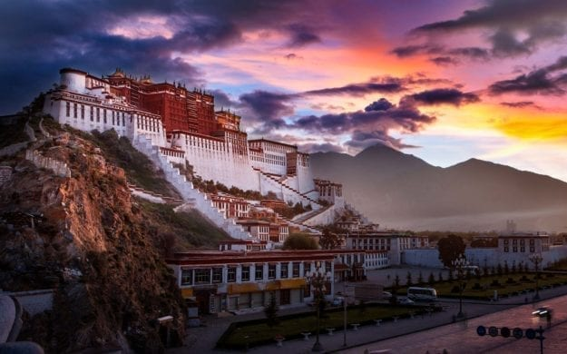 Potala Palace at dawn