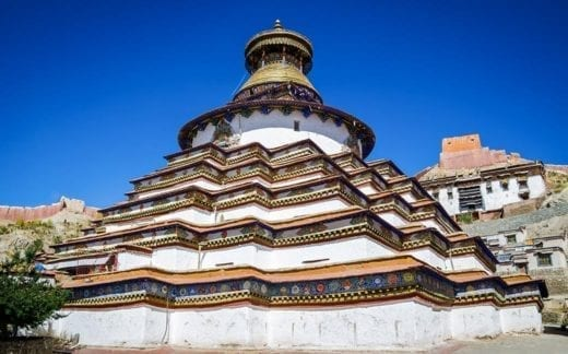 Explore the town of Gyantse