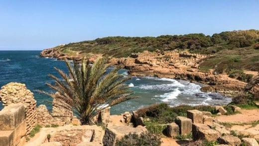 Algeria coast Tipasa ruins