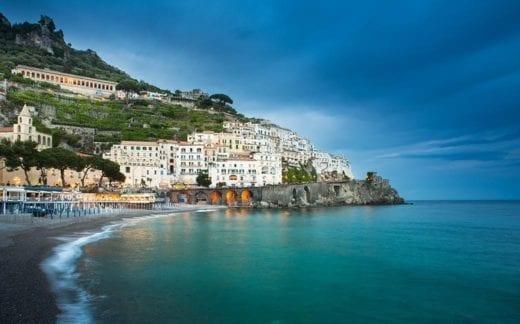 Amalfi cityscape, Italy