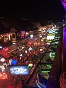 street with many bars