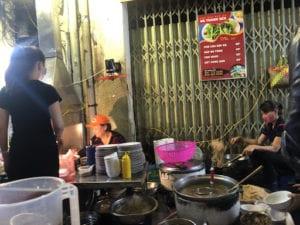 street food preparation