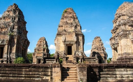 East Mebon Temple,a part of the Angkor Archaeological Complex.