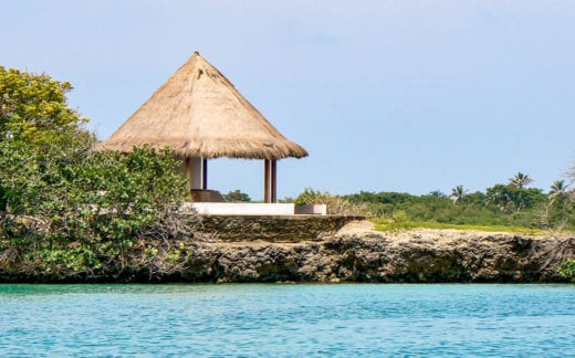Rosario Islands hut