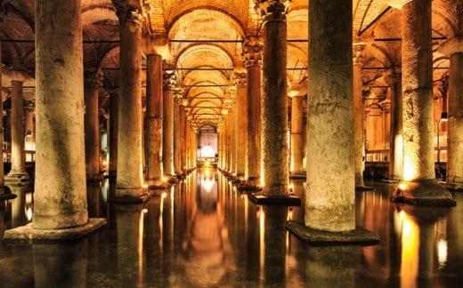 Basilica Cistern - Yerebatan Sarnici - Istanbul
