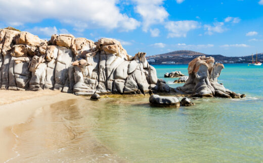 Rocks on Kolimbithres beach